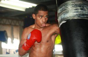 'El Científico' Núñez en los entrenamientos. Foto Anayansi Gamez