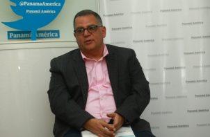 Camilo Amado, presidente del Comité Olímpico de Panamá. Foto Anayansi Gamez