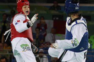 Carolena Carstens de 23 años compite en los -57 kilogramos. Anayansi Gamez