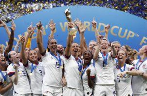 Estados Unidos ha ganado cuatro mundiales. EFE
