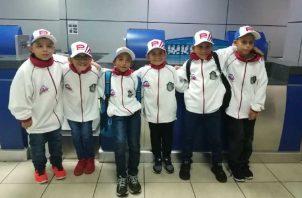 El equipo previo a su viaje a Estados Unidos. Cortesía