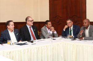 Los principales responsables se reunieron ayer con Cortizo. Cortesía