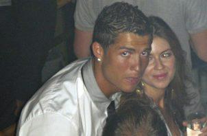 Cristiano Ronaldo conoció a Kathryn Mayorga en una discoteca en Las Vegas. Foto AP