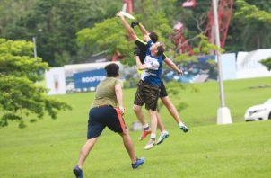 Frisbee crece en Panamá. Foto: Anayansi Gamez