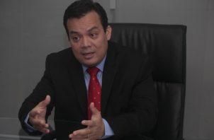 Juan Carlos Araúz, presidente electo del Colegio Nacional de Abogado.