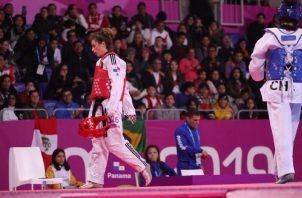 Carolena Carstens llegó a Lima luego de un largo tiempo de recuperación, tras sufrir una grave lesión el año pasado. COP