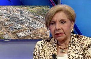La diputada Mayín Correa citó como ejemplo de descuido el abandono de la Ciudad de la Salud. Archivo