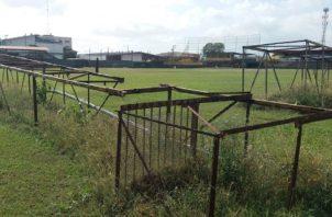 El estadio Justino Salinas se ha quedado huérfano de béisbol en los últimos dos años. Cortesía