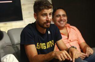 Sagan en su visita a Panamá América. Anayansi Gamez