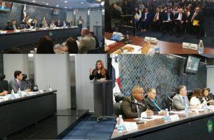 Sin mayores cuestionamientos han sido aprobadas las primeras designaciones del Ejecutivo en la Comisión de Credenciales.  Víctor Arosemena