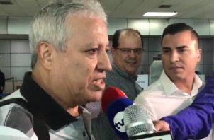 Américo Gallego aseguró que en Panamá hay un buen equipo  y (los jugadores) son buena gente. Cortesía
