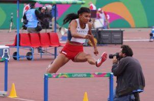 Gianna Woodruff avanzó a la gran final de los 400 metros con vallas de los Juegos Panamericanos. COP