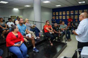 Atletas paralímpicos recibieron charla sobre dopaje. Pandeportes