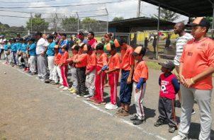 Equipos participantes en el torneo infantil de Arraiján. Foto:Eric Ariel Montenegro