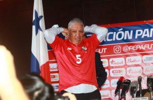 Gallego prometió llevar a Panamá a Catar.