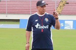 Américo Gallego también incorporará a Armando Cooper en los trabajos de la selección. @Fepafut