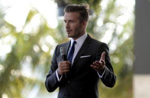 Beckham es un hombre de negocios.