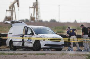 Policía adelanta las investigaciones. AP