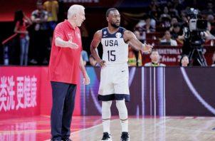 Estados Unidos certificó su pase a los cuartos de final. EFE