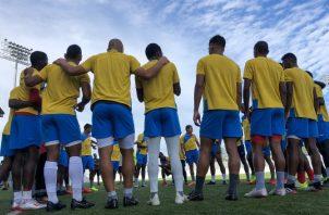 CAI de La Chorrera entrena con miras al partido contra Sporting. @LPF