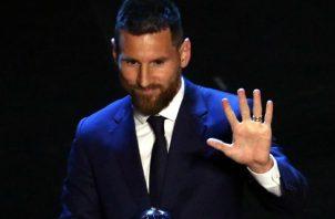 Messi superó a Cristiano. EFE