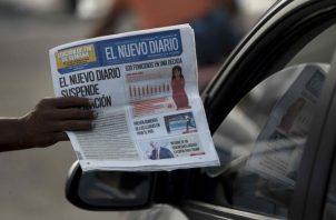 Otros diarios del país  también están en riesgo. EFE
