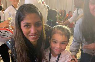 Kary Roa tuvo que competir en Panamá, previamente, contra 17 niños de su misma edad.