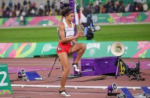 Gianna Woodruff avanzó a las semifinales en Londres 2017. Cortesía