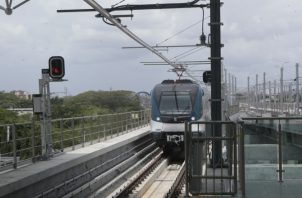 El problema con la Línea 1 del Metro de Panamá fue en Albrook.