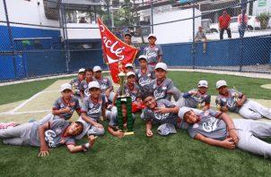 Coclé se coronó en el béisbol Sub-10. Foto:Anayansi Gamez