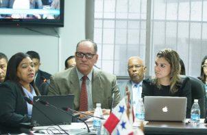 Eduardo Cerda presentó el presupuesto de Pandeportes. Foto Cortesía