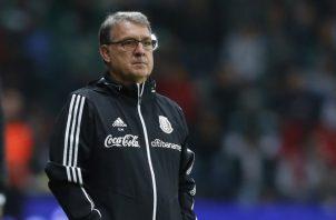 """Gerardo """"Tata"""" Martino, técnico de México. AP"""