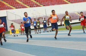 Nacional de Atletismo Infantil y Juvenil se realizó en el Rommel. Anayansi Gamez
