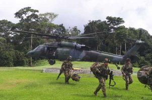 Tropas aún  mantienen la operación en el área. Cortesía