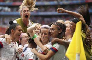 Estados Unidos volvió a ganar el título. Foto AP