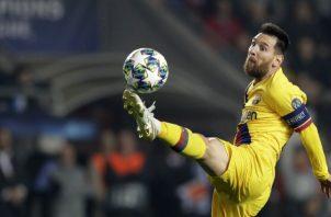 Lionel Messi marcó anotó al minuto 3 del partido. Foto: AP
