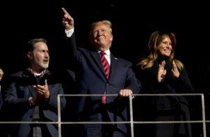 Presidente Donald Trump FOTO/AP
