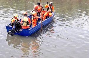 El sujeto de 74 años saltó al río Juan Díaz el 5 de noviembre. Sinaproc