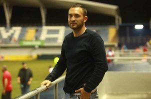 Caio Milan, jugador del San Francisco. Foto:Anayansi Gamez