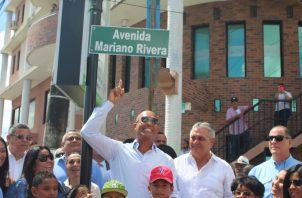 Mariano Rivera agradeció el reconocimiento. Eric Ariel Montenegro
