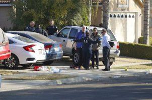 Investigan tiroteo en Fresno FOTO/AP