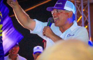 José Isabel Blandón fue electo como el nuevo presidente del Partido Panameñista.