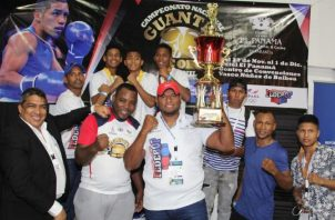 El equipo de Darién fue el ganador del torneo boxístico Guantes de Oro. Foto @Pandeportes