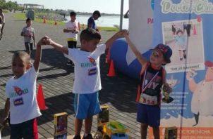 Unos 1,200 dólares se repartieron en premios a los pequeños. Cortesía
