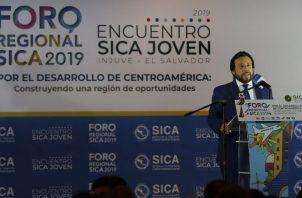 Félix Ulloa, vicepresidente de El Salvador. EFE