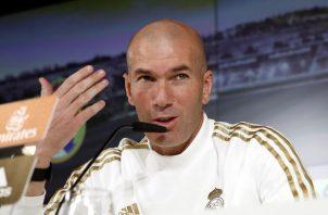 Zidane no quiso opinar sobre la situación de Barcelona. Foto EFE