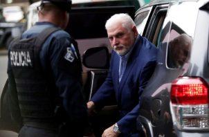El equipo legal del expresidente Ricardo Martinelli ha manifestado que estas personas denunciadas se han dedicado a denigrar la imagen de su defendido. Archivo