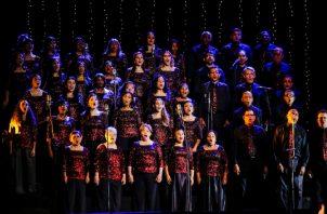 El coro Voces de Esperanza ha celebrado sus últimas presentaciones en el centro de convenciones Amador.  Cortesía