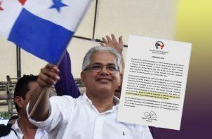 Comité de Elecciones del panameñismo convoca a juramentación. Ilustración Panamá América