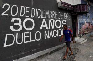 Mañana, 20 de diciembre, se conmemoran 30 años de la invasión estadounidense a Panamá. EFE